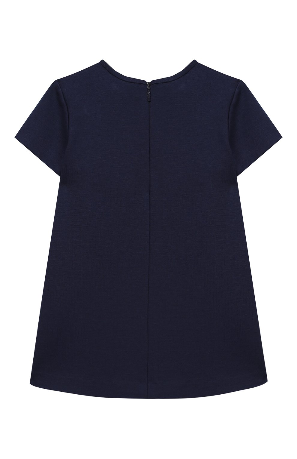 Женская мини-платье из вискозы GUCCI синего цвета, арт. 518796/X7C32 | Фото 2
