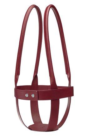 Мужского кожаный держатель для набора mood CHRISTOFLE бордового цвета, арт. 07753299 | Фото 1