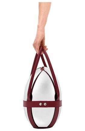 Мужского кожаный держатель для набора mood CHRISTOFLE бордового цвета, арт. 07753299 | Фото 3