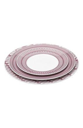 Мужского десертная тарелка mood nomade CHRISTOFLE бордового цвета, арт. 07685130   Фото 2