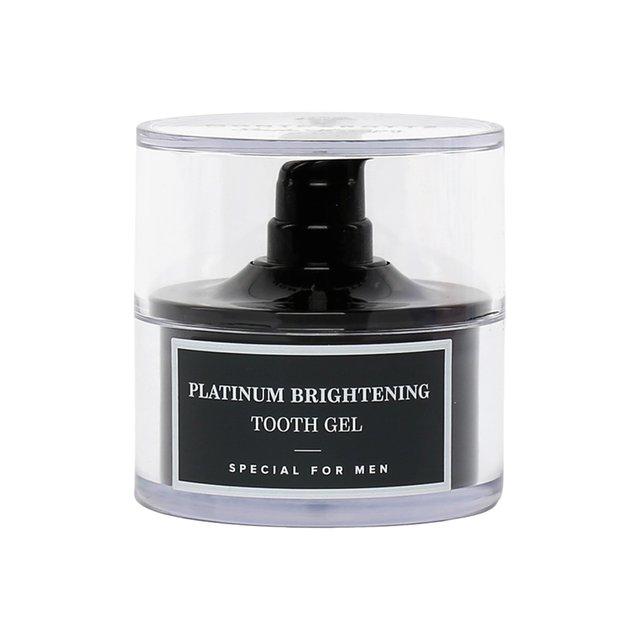 Гель для зубов Platinum Brightening Tooth Gel Montcarotte.
