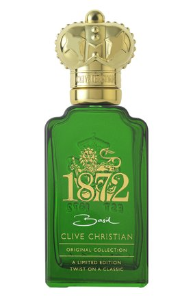 Мужской духи 1872 basil CLIVE CHRISTIAN бесцветного цвета, арт. 652638006116 | Фото 1