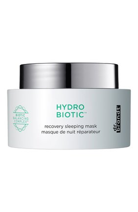 Ночная восстанавливающая маска hydro biotic DR. BRANDT бесцветного цвета, арт. 100000000139 | Фото 1