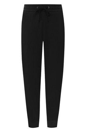 Укороченные хлопковые брюки с поясом на кулиске | Фото №1