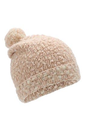 Хлопковая шапка с помпоном | Фото №1