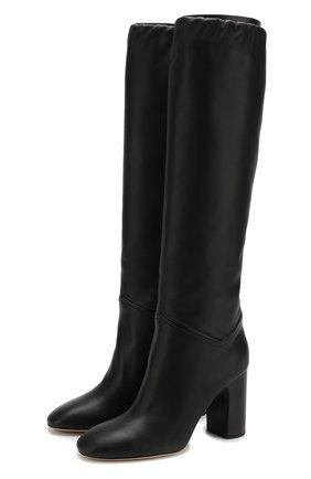 Женские кожаные сапоги tilda  LORO PIANA черного цвета, арт. FAI3424 | Фото 1