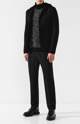 Шерстяные брюки прямого кроя | Фото №2