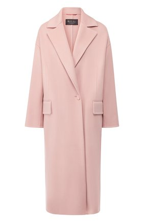 Кашемировое пальто с отложным воротником | Фото №1