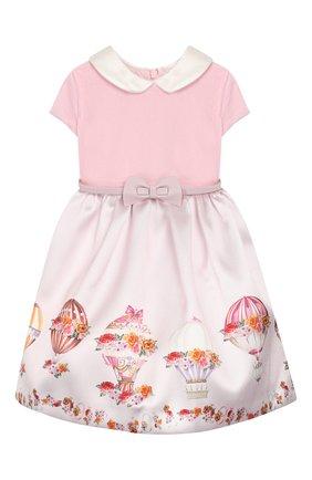 Платье-миди с поясом | Фото №1