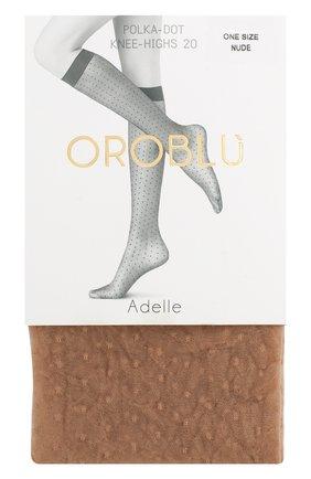 Женские капроновые гольфы OROBLU бежевого цвета, арт. V0BC63103 | Фото 1