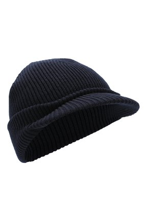 Шерстяная шапка с козырьком | Фото №1