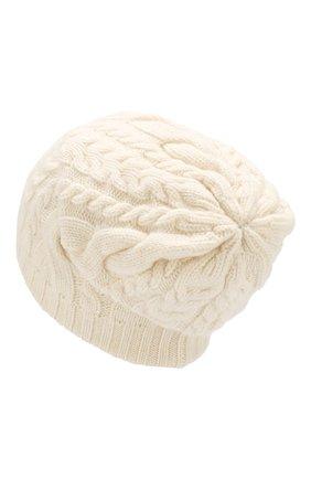 Мужская шапка из смеси шерсти и вискозы INVERNI белого цвета, арт. 3807CM | Фото 2
