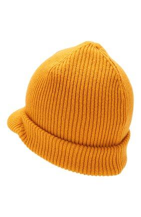 Мужская шерстяная шапка с козырьком INVERNI желтого цвета, арт. 4224CM | Фото 2
