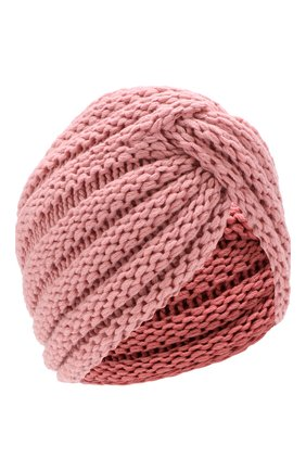 Вязаная шапка-тюрбан из кашемира | Фото №1
