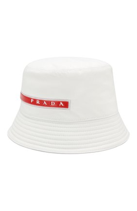 Мужская панама prada linea rossa PRADA белого цвета, арт. 2HC137-1L4K-F0K74 | Фото 1