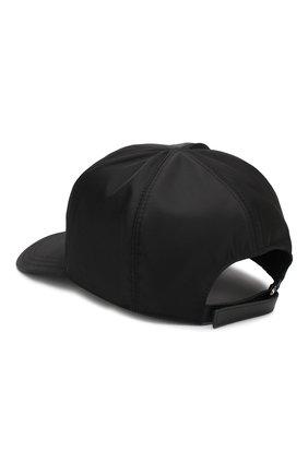 Мужской бейсболка PRADA черного цвета, арт. 2HC587-820-F0002 | Фото 2