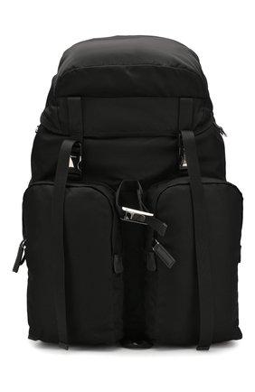 Текстильный рюкзак с внешними карманами | Фото №1