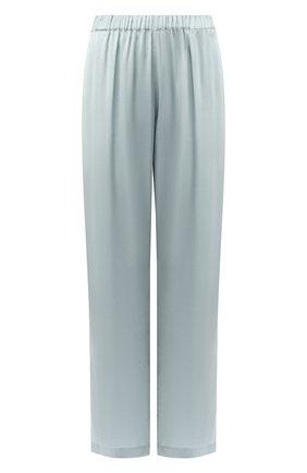 Шелковые брюки с эластичным поясом | Фото №1
