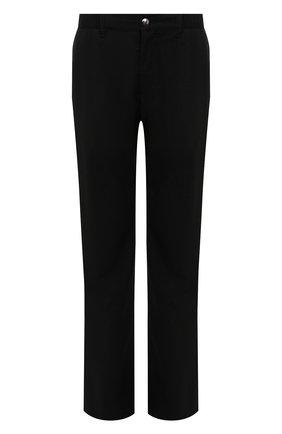 Мужской брюки прямого кроя из смеси шерсти и кашемира ZILLI темно-серого цвета, арт. M0Q-D0292-LACH1/R001 | Фото 1