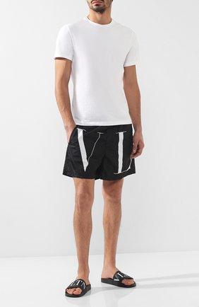 Плавки-шорты с принтом | Фото №2