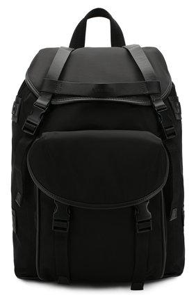 Текстильный рюкзак с внешним карманом   Фото №1