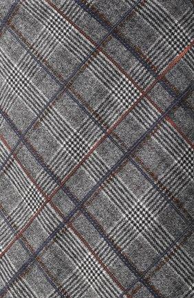 Женская шерстяная мини-юбка в клетку BRUNELLO CUCINELLI серого цвета, арт. MA598G2745   Фото 5