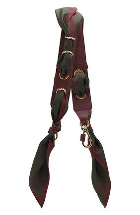 Кожаный ремень для сумки Scarf Strap | Фото №1