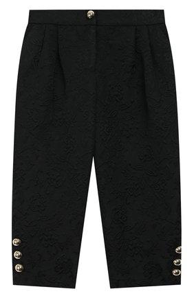 Жаккардовые брюки с защипами | Фото №1