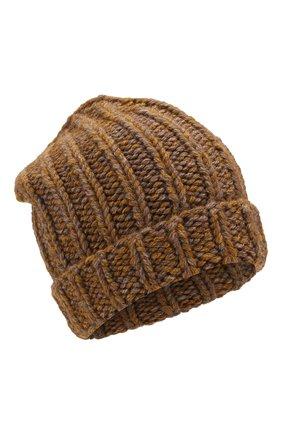 Вязаная шапка из смеси шерсти и вискозы | Фото №1