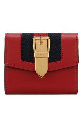 Кожаный кошелек Sylvie с клапаном | Фото №1