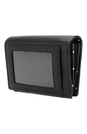 Кожаный кошелек на кнопке | Фото №2