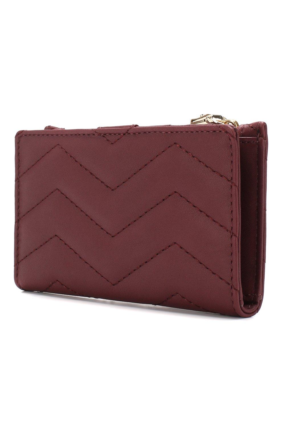 Кожаный кошелек с отделениями для кредитных карт   Фото №2