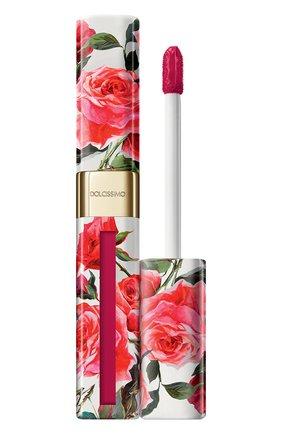 Матовый лак для губ Dolcissimo, оттенок 9 Cherry | Фото №1