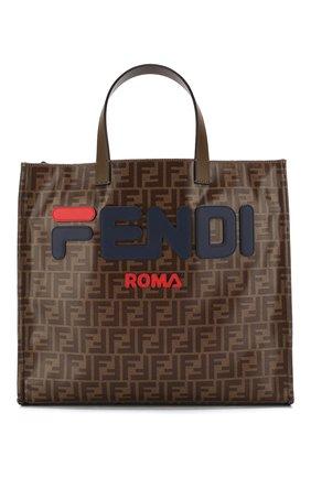 Сумка-шоппер с логотипом бренда   Фото №1