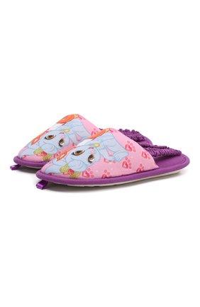 Текстильная домашняя обувь | Фото №1