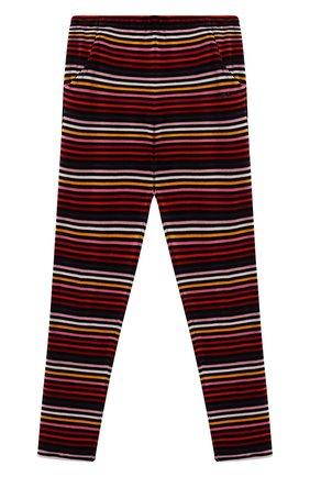 Хлопковые брюки зауженного кроя | Фото №1