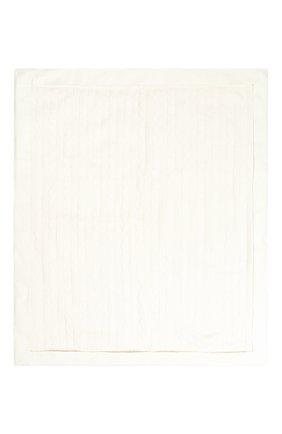Детского одеяло фактурной вязки LORO PIANA белого цвета, арт. FAD5709 | Фото 2