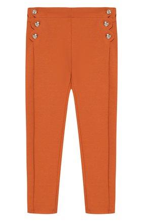 Однотонные брюки джерси | Фото №1