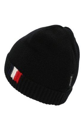 Детского кашемировая шапка MONCLER ENFANT черного цвета, арт. D2-954-99207-00-9959E | Фото 2