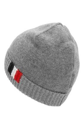 Детского кашемировая шапка MONCLER ENFANT серого цвета, арт. D2-954-99207-00-9959E | Фото 2