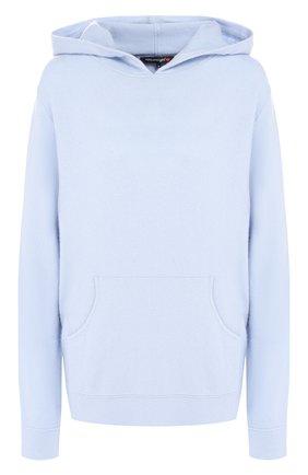 Вязаный пуловер с капюшоном | Фото №1