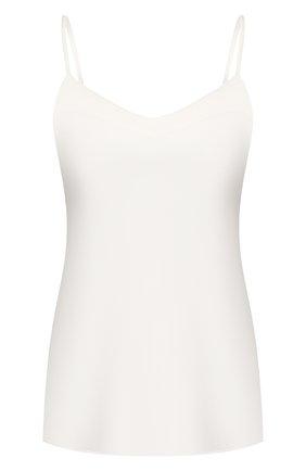 Женская шелковый топ COTTON CLUB кремвого цвета, арт. 7ZM | Фото 1