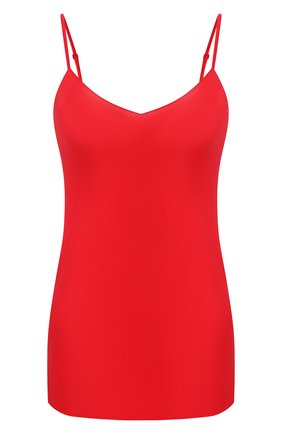 Женская шелковый топ COTTON CLUB красного цвета, арт. 7ZM | Фото 1