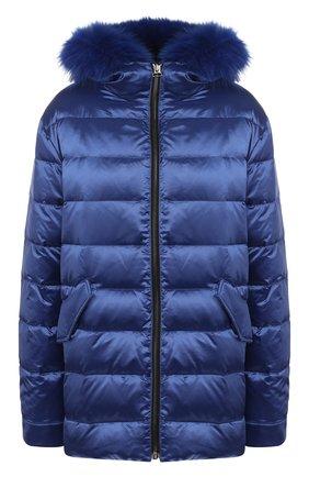Двусторонняя куртка с меховой подкладкой | Фото №1