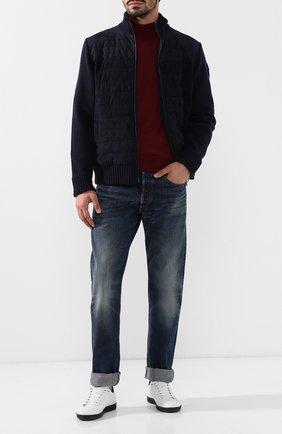 Мужские джинсы прямого кроя RRL синего цвета, арт. 782658886 | Фото 2
