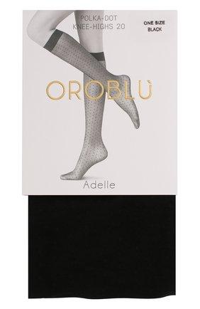 Женские капроновые гольфы OROBLU черного цвета, арт. V0BC63103 | Фото 1