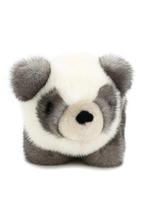 Игрушка Панда с меховой отделкой | Фото №1
