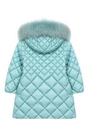 Стеганое пальто на молнии с капюшоном | Фото №2