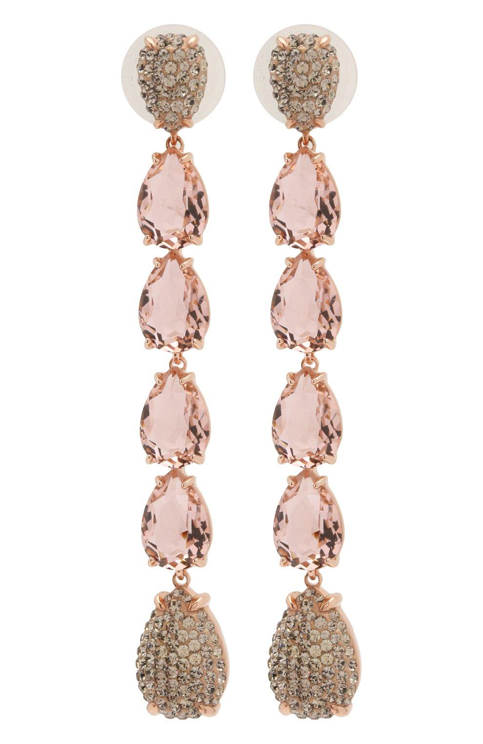 Женские серьги mix SWAROVSKI розового цвета, арт. 5427953   Фото 1