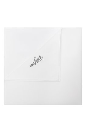 Мужской хлопковый платок VAN LAACK белого цвета, арт. LE0N-ST2/130657 | Фото 1